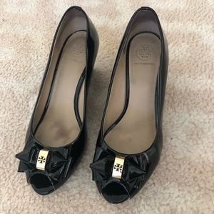 Authentic Tory Burch wedged